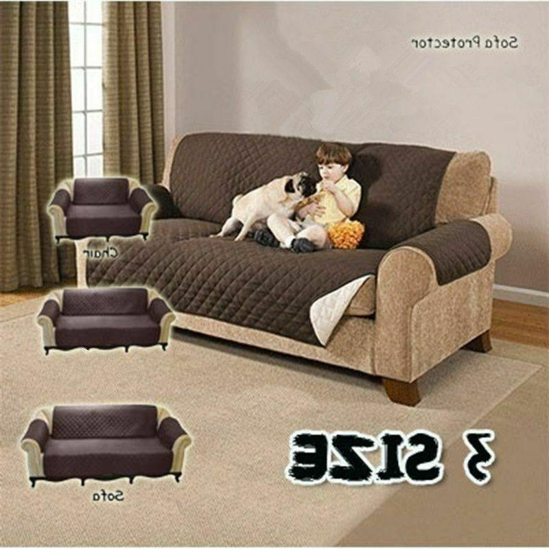 Sofa Cover For Pet Dog Cat Reversible Washable Removable