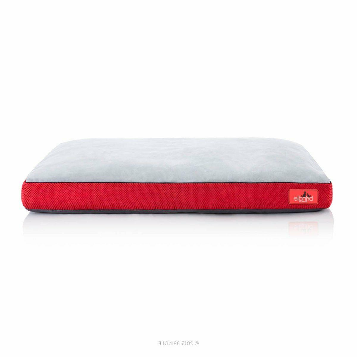 Soft Cozy Dog Bed with Removable Washable Red Cat Puppy