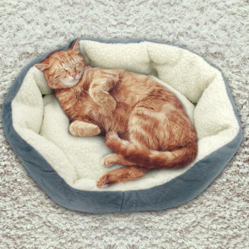 Soft Small Mat Warm Washable Cushion Pad Bed 19.5*17""