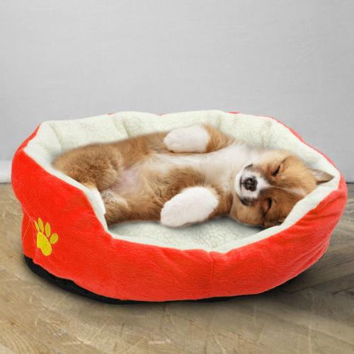 Soft Bed Small Mat Washable Pad Mat Dog Indoor Bed 19.5*17""