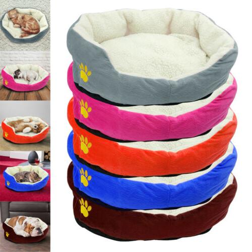 soft dog bed small mat warm washable