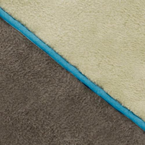 Brindle Foam Bed with Removable Washable 22in Khaki
