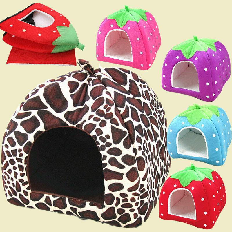 Soft Pet Dog Cat Bed House Puppy Cushion Pad S-XL