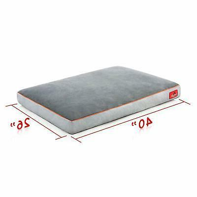 Brindle Soft Memory Foam Removable Washable Cover, 40' x