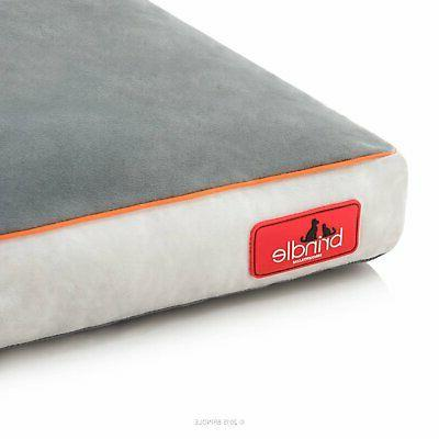 Brindle Foam Bed Removable Washable Cover, 40' x