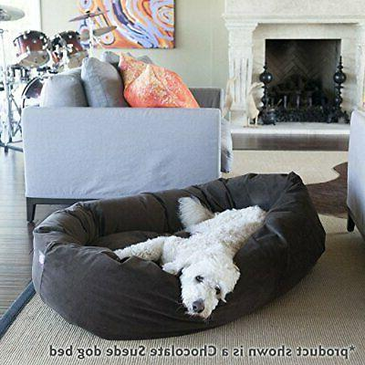 Majestic Suede Dog Bed