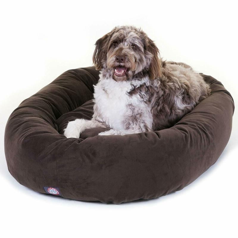 suede dog bed products