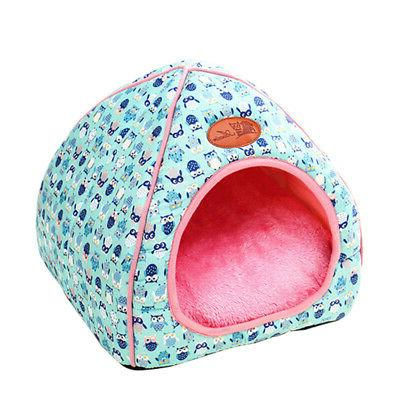 Pet Tent House Soft Plush Nest