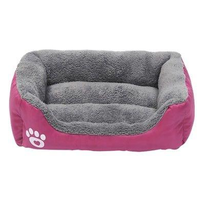US Large Pets Cat Waterproof Beds Doghouse Sleeping Bed Mat