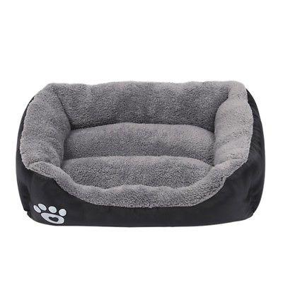 US Dog Cat Waterproof Beds Kennel Bed Mat