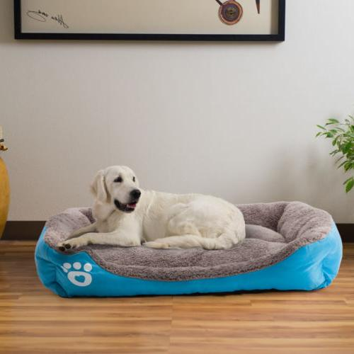 US Bed Large Pet Dog Cat Bed Puppy Soft Warm Kennel