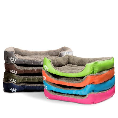 US Bed Large Dog Cat Bed Puppy House Warm Mat