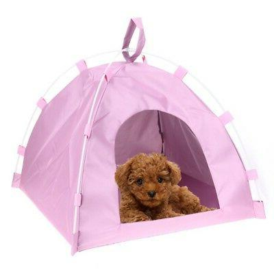 Soft Dog Kennel Warm House Indoor Outdoor Pet Cat Bed Travel