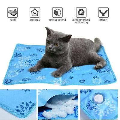 US Pet Cat Cool Self Cooling Gel Pad Bed Mattress