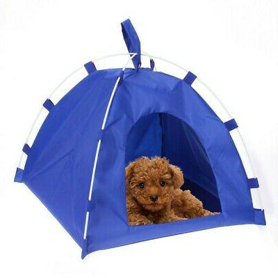Soft Portable Dog Kennel Warm House Indoor Outdoor Pet Cat B