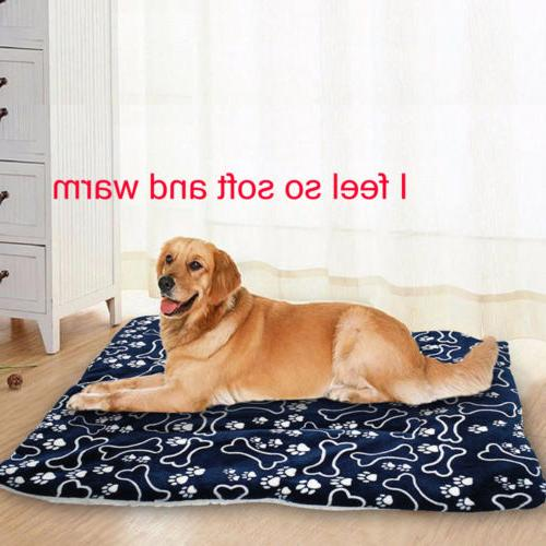 Cute Pet Bed Cushion Mat Pad Soft House