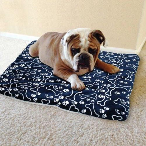 Cute Bed Pad Kennel Soft House S-XL