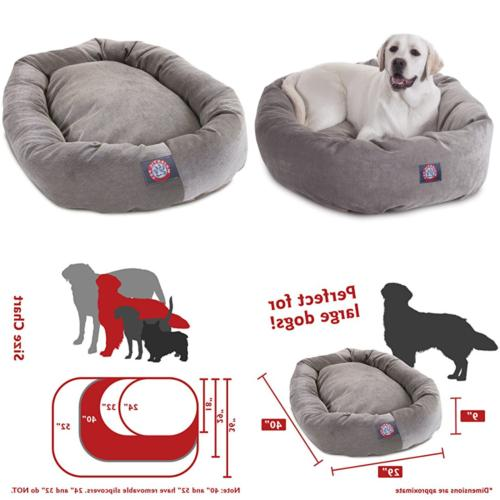 Villa Bagel Dog Bed By Products