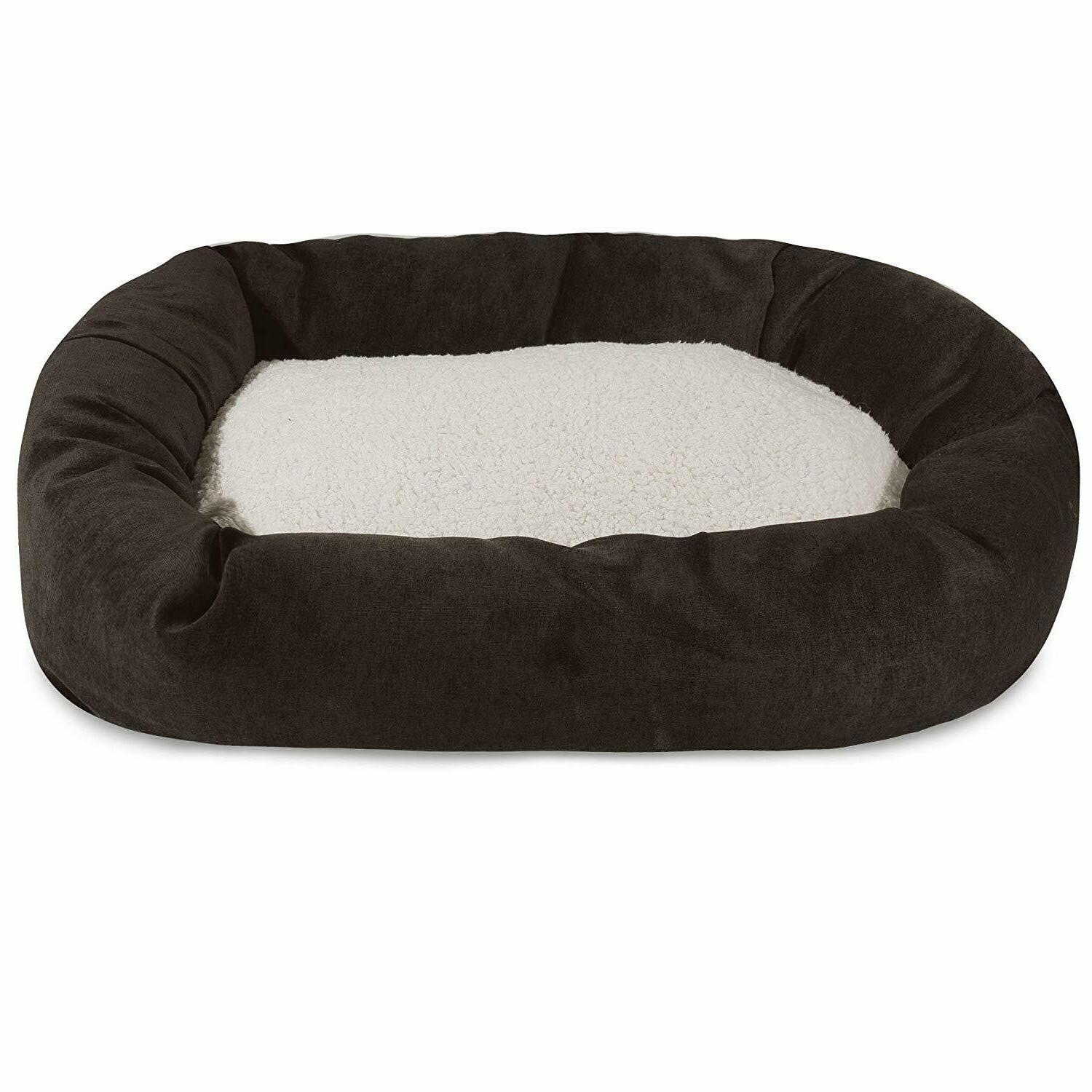 """Majestic Pet Villa Collection Sherpa Bagel Pet Bed size: 32"""""""