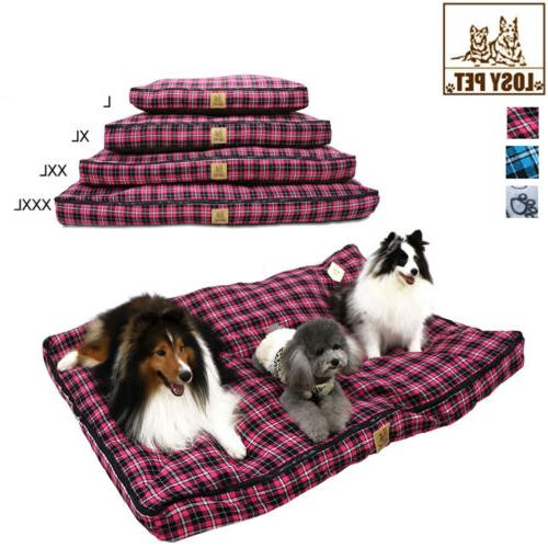 Waterproof Dog Bed Extra Large Washable Mat Big Suede