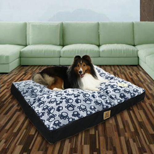 Waterproof Pet Bed for Large Orthopedic Mattress Cover