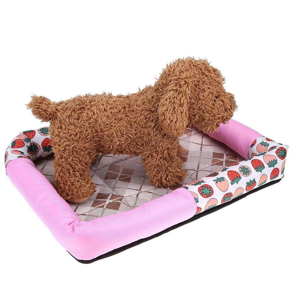Waterproof Oxford Cloth Lovely Pet Bed Puppy House Kennel Cat Pad