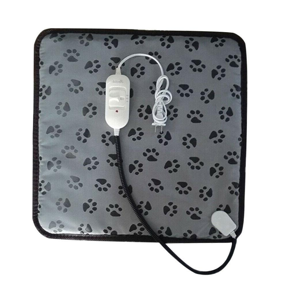 Pet Electric Heating Mat Cushion Heated Pad Bed Puppy Dog Ca