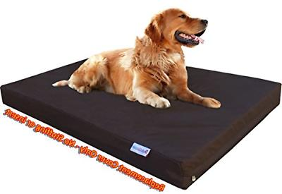 Dogbed4less XL 1680 Heavy Duty Dog Pet Bed External Duvet Cover