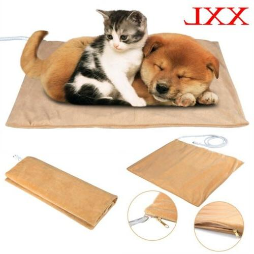 XXL Heated Warmer Bed Pad for Dog Cat Reptile Pet Bed Pad Ma