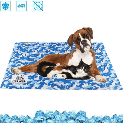 XXXL Large Non-toxic Cooling Mat Pad Pet Dog Bed Kennel