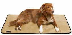 Big Shrimpy Landing Pad Faux Suede Crate Mat For Dogs & Cats