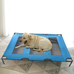 Large Elevated Camping Pet Cot Portable Raised Dog Cat Sleep