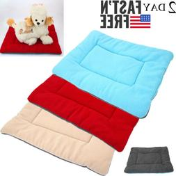 Large Pet Bed for Dog Cat Crate Mat Soft Warm Pad Liner Indo