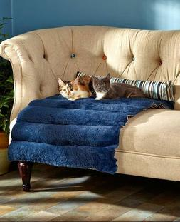 """Large Portable Pet Bed, 23""""x36"""" Rolls Up for Travel, Cat/Dog"""