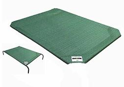 Large Replacement Cover Dog Bed Elevated Bedding Pet Cot Rai