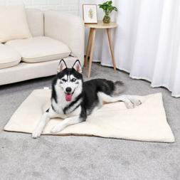 Pet Large Dog Cat Self-Heating Bed Pup Mat Warm Cushion Ther