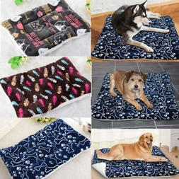 Large Self Heating Puppy Dog Bed Mat Soft Warm Pet Cat Rug T