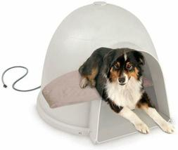 K&H Pet Products Lectro-Soft Igloo Style Outdoor Heated Bed