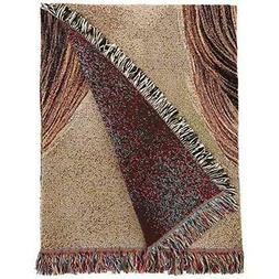 Pure Country Weavers - Lhasa Apso Dog Woven Throw Blanket wi