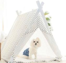 little dove Dog Teepee Large Pet Tent Furniture Cat and Dog