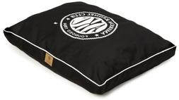 American Kennel Club Logo Gusset Pet Bed, Black