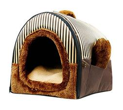 PANDA SUPERSTORE Lovely Dog&Cat Bed/Soft and Warm Pet House