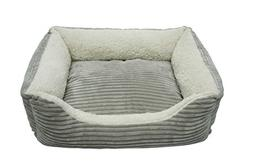 Luxury Lounge Pet Bed, Small - 22 L x 19 W, Imperial Purple