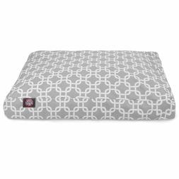 Majestic Dog Bed XL Gray Link Indoor/Outdoor Pet Bed w/ Remo