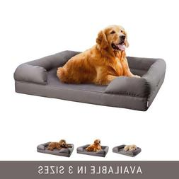 Petlo Mattress Pet Sofa Bed,Solid Memory Foam Couch for LaRG