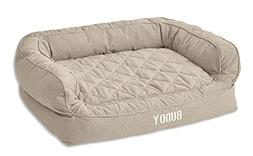 Orvis Memory Foam Couch Dog Bed/Large Dogs 60-90 Lbs, Heathe