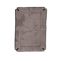 "K & H Pet Products Memory Foam Crate Pad, Grey, 21"" x 31"