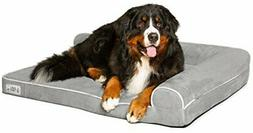 PetFusion Memory Foam Dog Bed  with Waterproof liner & remov