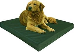 Dogbed4less Orthopedic Memory Foam Dog Bed with Durable Canv