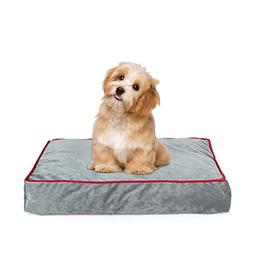 Memory Foam Pet Bed Ideal Aging Dogs Eases Pain Arthritis &